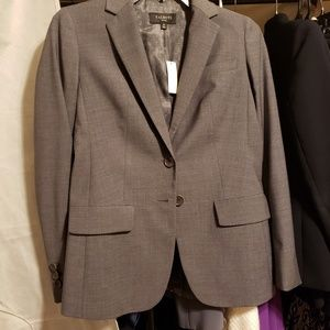 Talbots Blazer gray color. size 0P